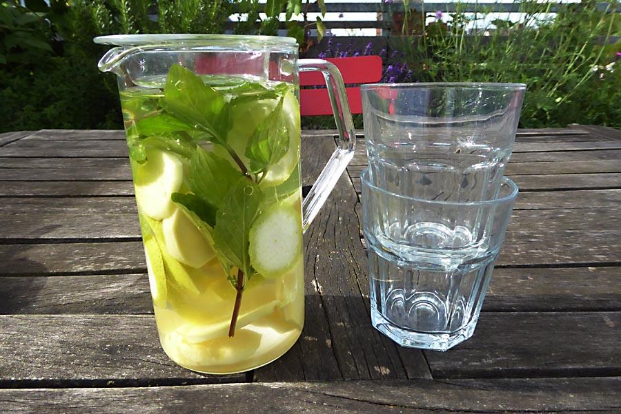 Zitronen-Minze-Limo