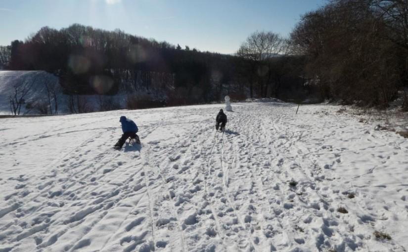 Viel Spaß im Schnee