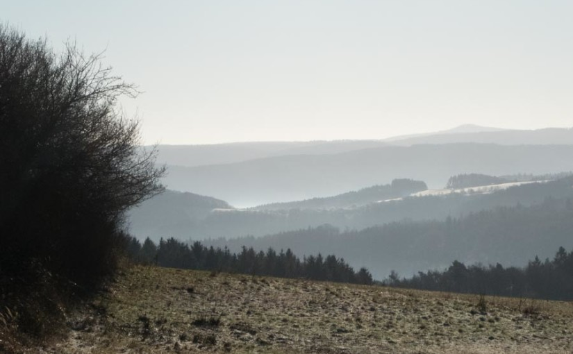 Winterwandern in der Eifel