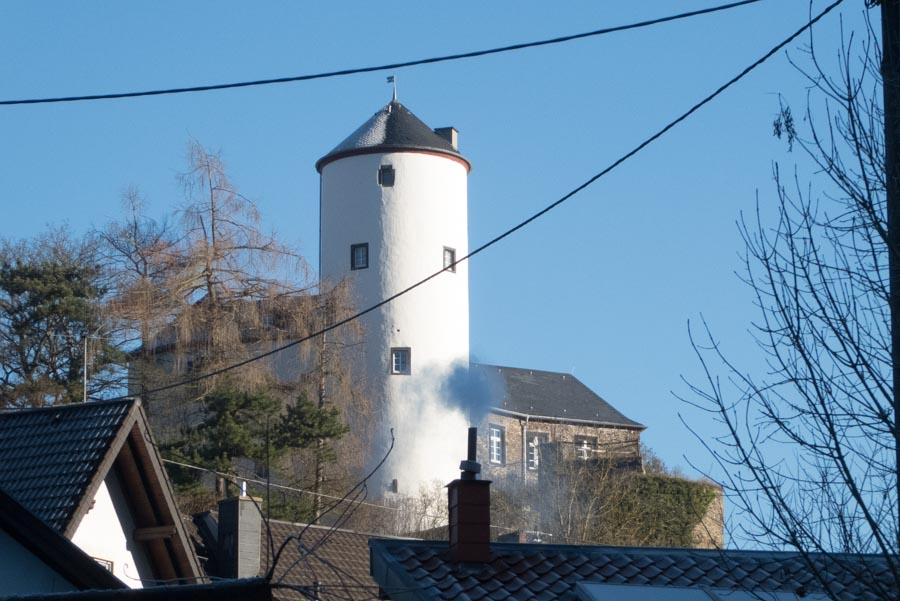 Burgberg und Burgturm