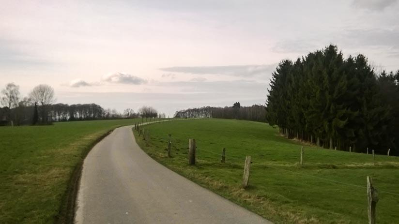 Mein Nach-Hause-Radelweg