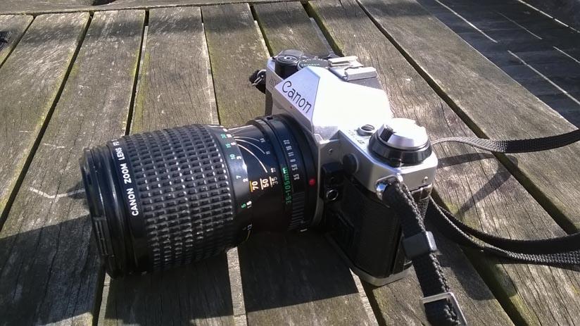 Kamera mit selber scharf stellen
