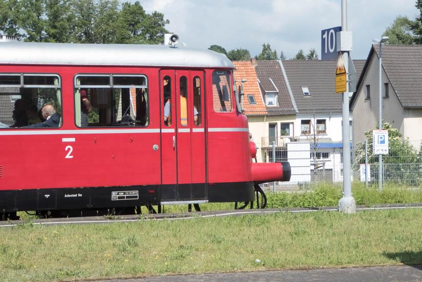 Schienenbus ins Oleftal