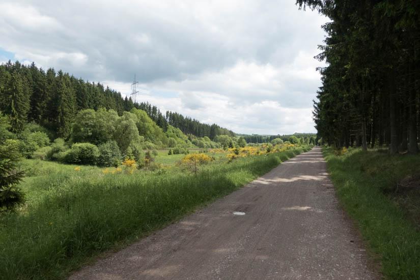 Urfttal, zwischen Nettersheim und Blankenheim