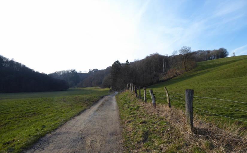 Winterwanderung von Siegburg Bf nach Honrath Bf