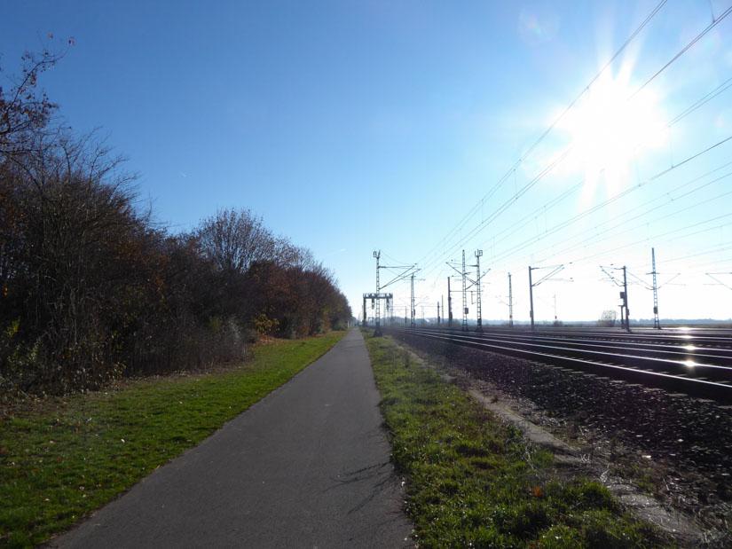 An der Bahnstrecke