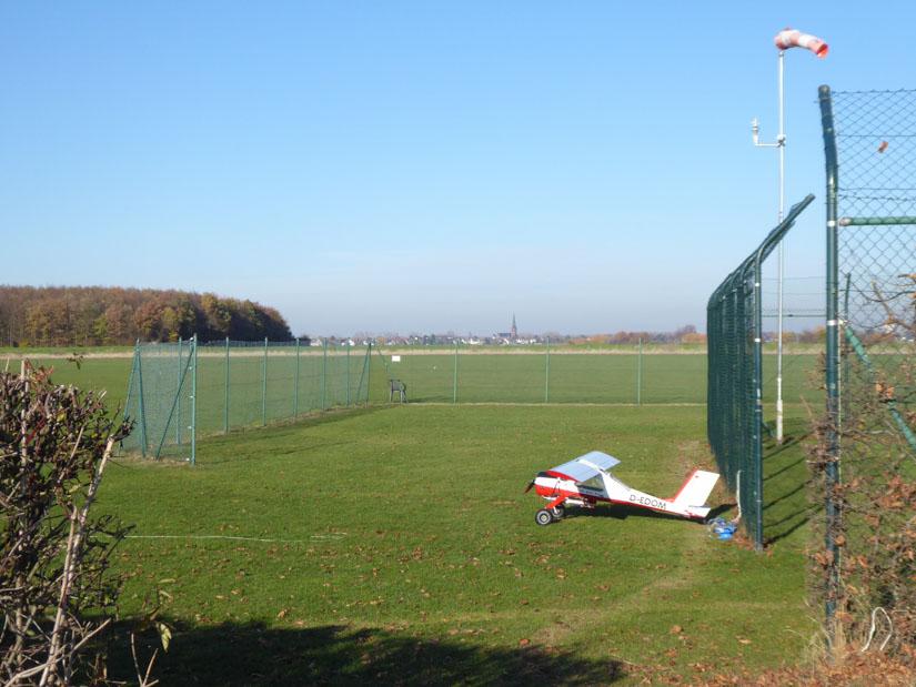 Der Modellflugplatz