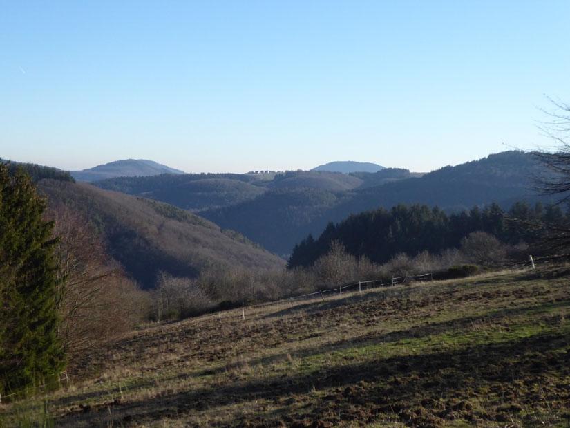 Weiter Blick über die Eifelhöhen